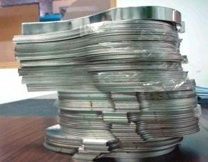 激光切割金屬薄片